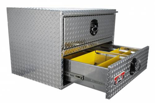 Underbody / Underbed - Aluminum Underbody Tool Box with Drawer