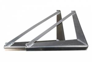 Brute - Brute Heavy Duty Under Body Mounting Brackets 18 inch HBK18