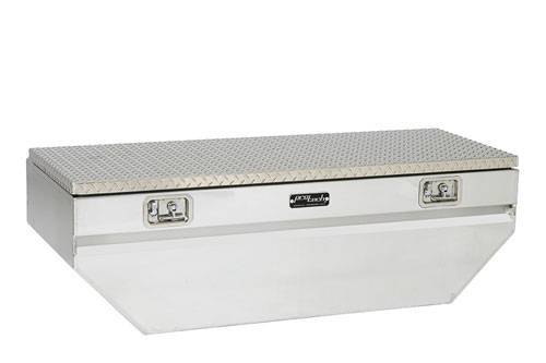 "Pro-Tech - Pro-Tech 60"" Inbed Chest Style Box - V Notched Chevy 2007 + 6.5 ft / 8 ft Beds 54-8441"