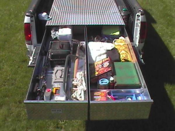 HMFINC - HMFINC 65 inch BB SERIES TRUCK BED BOX BB-65