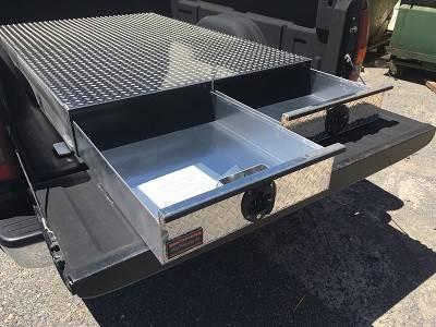 HMFINC - HMFINC BB Series - 72 inch Low Profile Bed Box BB72-LP