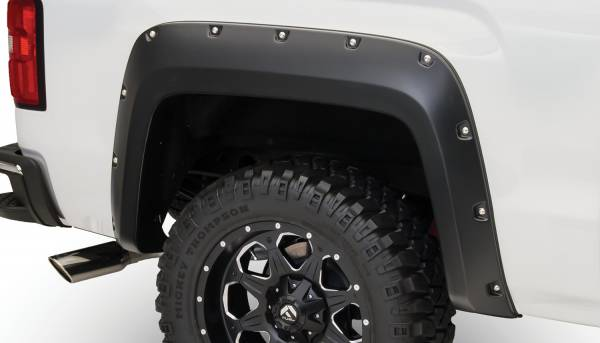 Bushwacker - Bushwacker FF Pocket Style 2Pc Rear 40122-02