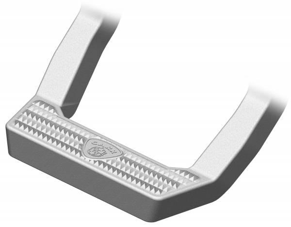 Carr - Carr LD Step Ti SIlver. Corroision resistant die cast Aluminum 114504