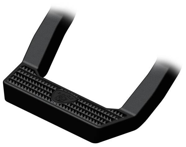 Carr - Carr LD Step Black. Corroision resistant die cast Aluminum 117441