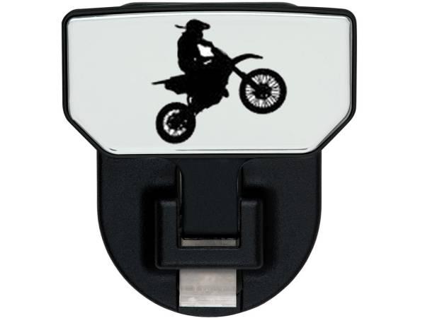 Carr - Carr HD Universal Hitch Step, Dirt Bike, single, fits 2 inch Reciever 183152