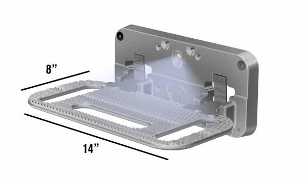 Carr - Carr HD Mega Polished. Corroision resistant die cast Aluminum 193022