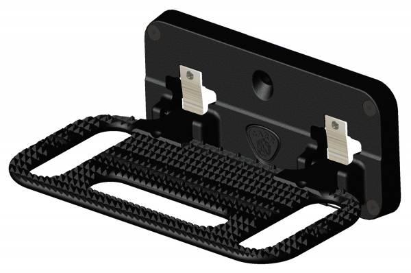 Carr - Carr HD Mega Black. Corroision resistant die cast Aluminum 194001