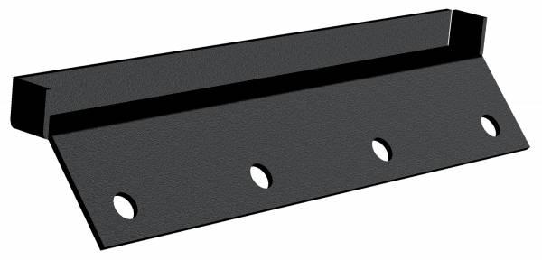 Carr - Carr Gutter-lessMount Black. Corroision resistant die cast Aluminum 220061