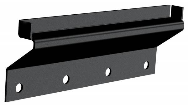 Carr - Carr Gutter-lessMount Black. Corroision resistant die cast Aluminum 220541