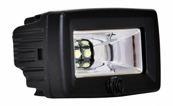 "KC HiLiTES - KC HiLiTES 2"" C-Series C2 LED Backup Area Flood Light - #1519 1519"