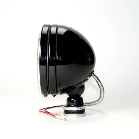 """KC HiLiTES - KC HiLiTES 6"""" Daylighter Halogen Pair Pack System - Black - KC #238 (Spot Beam) 238"""