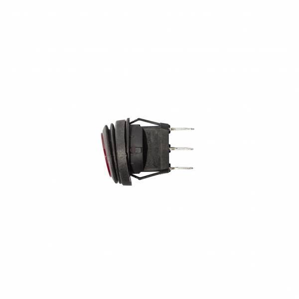 KC HiLiTES - KC HiLiTES KC Illuminated LED Rocker Light Switch - Red - KC #3113 3113