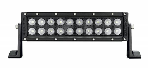 "KC HiLiTES - KC HiLiTES 10"" C Series C10 LED Light Bar Combo Beam - KC #334 (Spot/Spread Beam) 334"