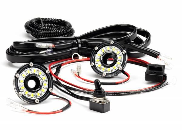 KC HiLiTES - KC HiLiTES Cyclone LED 2-Light Universal Under Hood Lighting Kit - KC #355 355