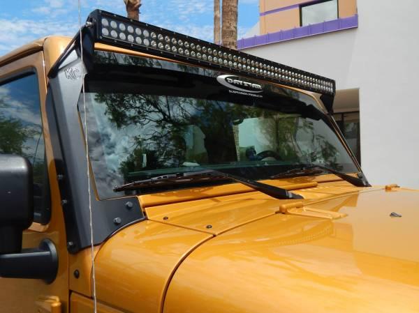 "KC HiLiTES - KC HiLiTES 50"" C Series C50 LED Bar & Overhead Mount Bracket Kit - Jeep JK 07-18 - KC #366 366"