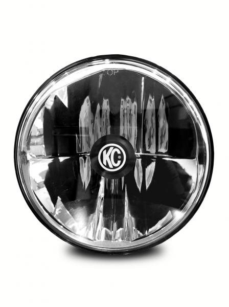 "KC HiLiTES - KC HiLiTES Gravity LED 7"" Headlight for Jeep TJ 1997-2006 Single - DOT Compliant 4236"