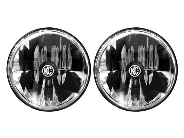 """KC HiLiTES - KC HiLiTES Gravity LED 7"""" Headlight DOT Jeep TJ 97-06/Universal H4 Pair Pack 42361"""