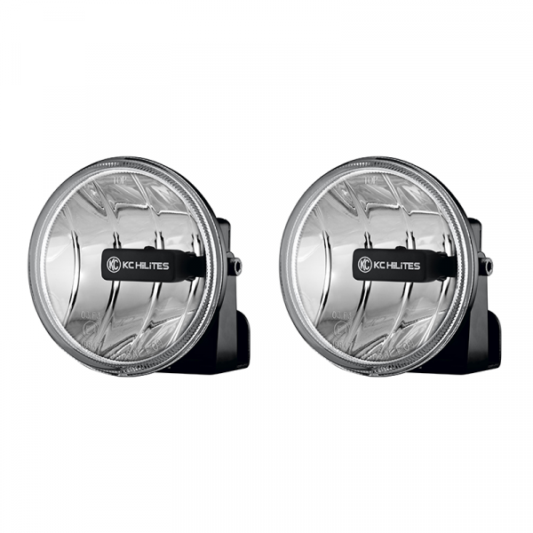 KC HiLiTES - KC HiLiTES Gravity LED G4 Fog Light Pair Pack System #495 - ( Amber Universal ) 495