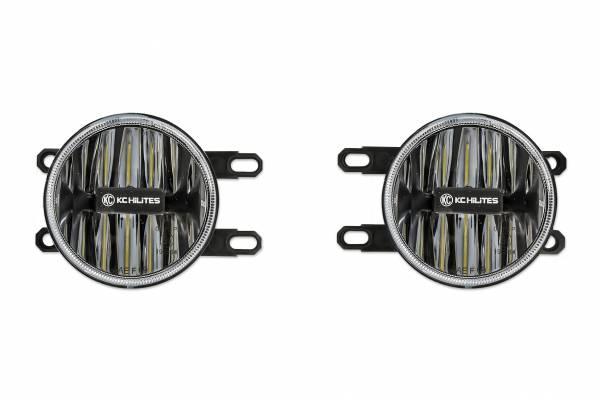 KC HiLiTES - KC HiLiTES Gravity LED G4 Toyota Tacoma 12-18 Amber LED Fog Pair Pack System - #501 501