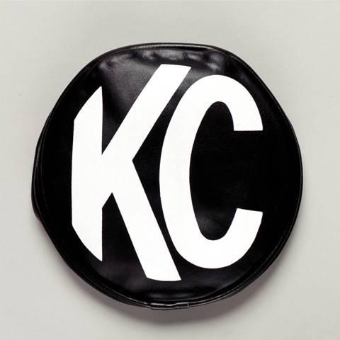 "KC HiLiTES - KC HiLiTES 6"" Vinyl Cover - KC #5100 (Black with White KC Logo) 5100"