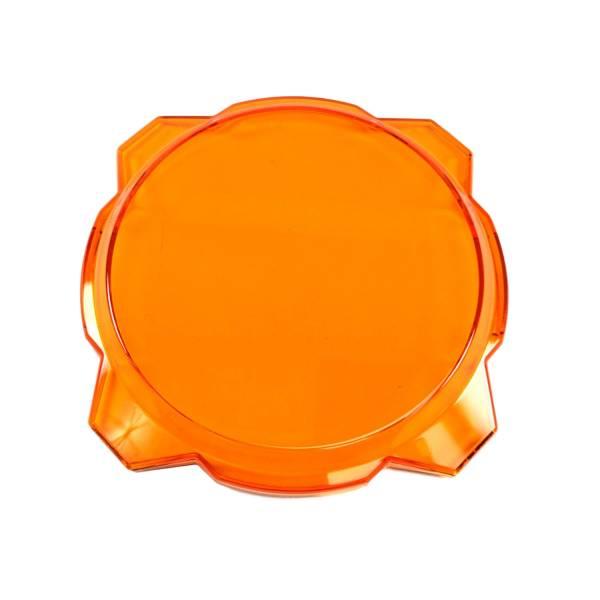 """KC HiLiTES - KC HiLiTES Gravity LED Pro6 6"""" Amber Light Shield Cover - #5112 5112"""