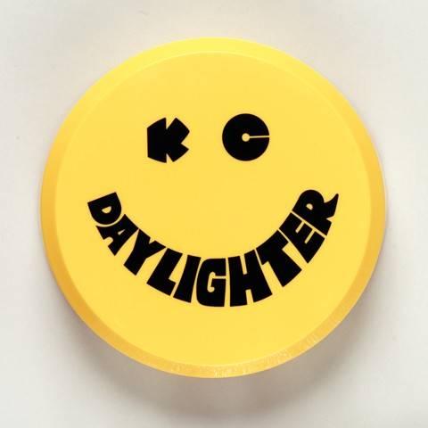 "KC HiLiTES - KC HiLiTES 6"" Plastic Cover - KC #5202 (Yellow with Black KC Daylighter Logo) 5202"