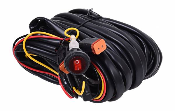 KC HiLiTES - KC HiLiTES Wiring Harness for Two Backup Lights with 2-Pin Deutsch Connectors - KC #63091 63091