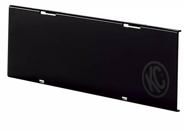 "KC HiLiTES - KC HiLiTES 10"" Black Acrylic Light Shield 72011"