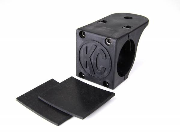 """KC HiLiTES - KC HiLiTES Tube Clamp Mount Bracket for 1.75"""" to 2"""" Round Light Bars and Roof Racks 7307"""