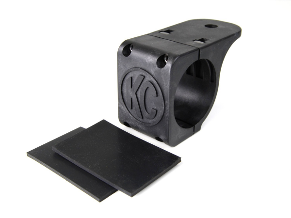 """KC HiLiTES - KC HiLiTES Tube Clamp Mount Bracket for 2.75"""" to 3.0"""" Round Light Bars and Roof Racks 7309"""