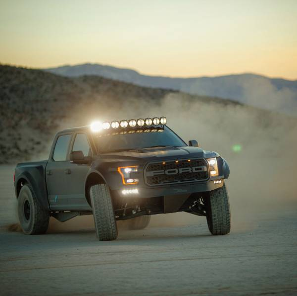 "KC HiLiTES - KC HiLiTES Gravity LED Pro6 15-19 Ford F-150/Raptor 9-Light 57"" LED Light Bar - #91333 91333"