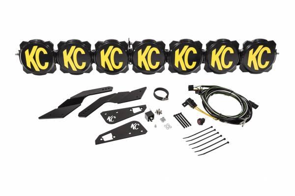 """KC HiLiTES - KC HiLiTES Gravity LED Pro6 17-19 Can-Am Maverick X3 7-Light 45"""" LED Light Bar - #91334 91334"""