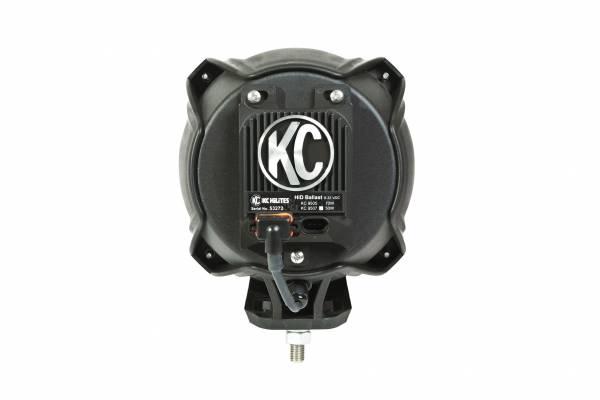 KC HiLiTES - KC HiLiTES Carbon POD 70W HID Spread Beam Single Light - KC #96427 96427