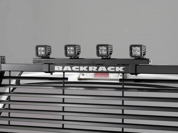 Backrack - Backrack Offroad Light Bracket Backrack and Safety Exc 10200,LV,SM,TR,TL Fasteners Incld 42005