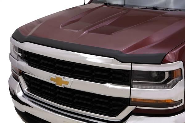 Auto Ventshade (AVS) - Auto Ventshade (AVS) AEROSKIN MATTE BLACK HOOD PROTECTOR 377123