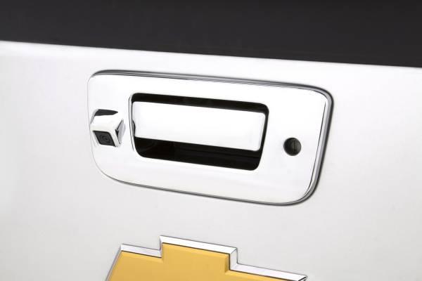 Auto Ventshade (AVS) - Auto Ventshade (AVS) CHROME TAILGATE HANDLE COVERS 686566