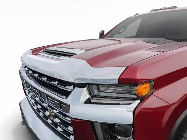 Auto Ventshade (AVS) - Auto Ventshade (AVS) AEROSKIN CHROME HOOD PROTECTOR 622187