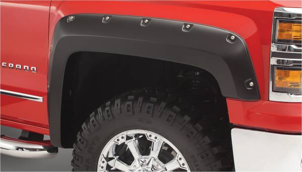 Bushwacker - Bushwacker FF Pocket Style 2Pc Rear 171002-02