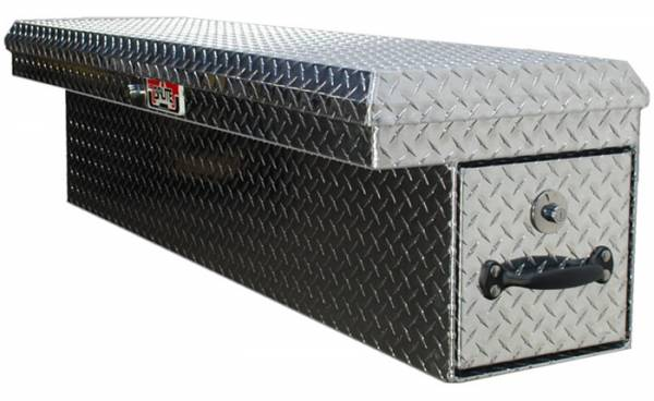 Brute - Brute 34 inch LowSider w/Rear Roller Drawer - Drivers Side - Black Texture Coat  RB7634D-BT