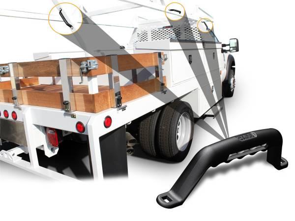 Carr - Carr Grab Handle Black. Corroision resistant die cast Aluminum 200031
