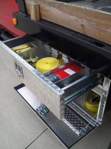 Brute - BRUTE Underbody Truck Tool Boxes w/Drawer 24 inch UB24-20TD - Image 3