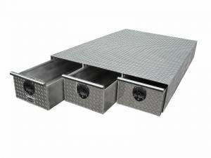 HMFINC - HMFINC BB Series - 3 Drawer 48 inch Bed Box BB48-3 - Image 1