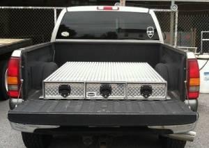 HMFINC - HMFINC BB Series - 65 inch Low Profile 3 Drawer Bed Box BB65-3LP - Image 1