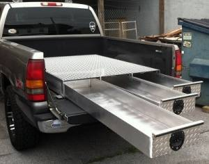 HMFINC - HMFINC BB Series - 65 inch Low Profile 3 Drawer Bed Box BB65-3LP - Image 2