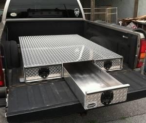 HMFINC - HMFINC BB Series - 65 inch Low Profile 3 Drawer Bed Box BB65-3LP - Image 3