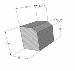 Dimensions of small generator box