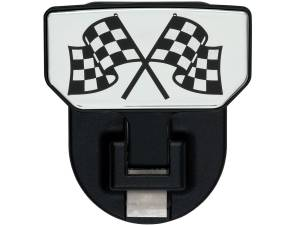 Carr - Carr HD Universal Hitch Step, Checkered Flag, single, fits 2 inch Reciever 183082 - Image 1