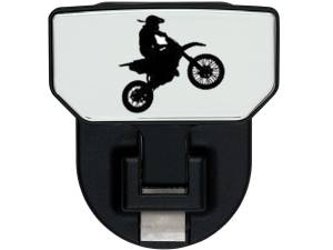 Carr - Carr HD Universal Hitch Step, Dirt Bike, single, fits 2 inch Reciever 183152 - Image 1