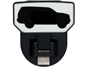 Carr - Carr HD Universal Hitch Step, SUV, single, fits 2 inch Reciever 183192 - Image 1