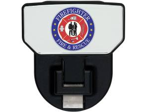 Carr - Carr HD Universal Hitch Step, Fire & Rescue, single, fits 2 inch Reciever 183212 - Image 1